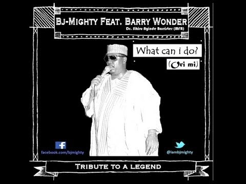 BJ Mighty - What Can I Do? (Ori Mi) ft. Late Barry Wonder