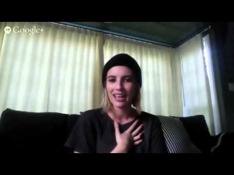 Google+ Hangout with Emma Roberts ('American Horror Story: Coven')