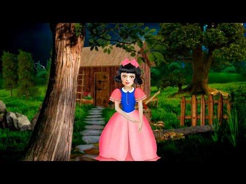 Blancanieves y los siete (7) enanitos. Video Cuento Infantil en Español