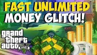 "GTA 5 Online Fast ""Unlimited Money Glitch!"" NEW Money"