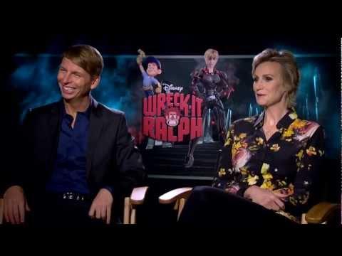 'Wreck-It Ralph' Jack McBrayer and Jane Lynch Interview