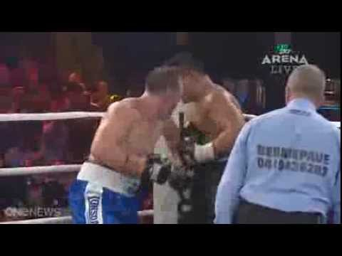 Paul Gallen vs Herman Ene-Purcell - controversial finish