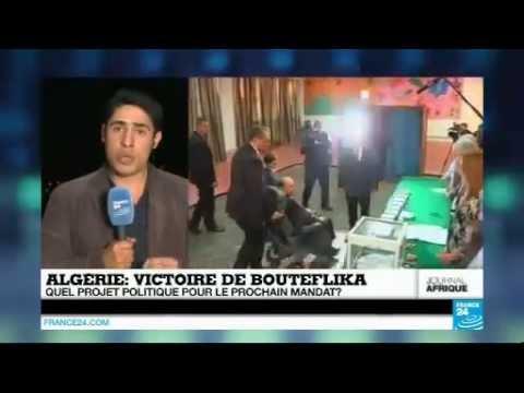 Abdelaziz Bouteflika réélu pour un quatrième mandat