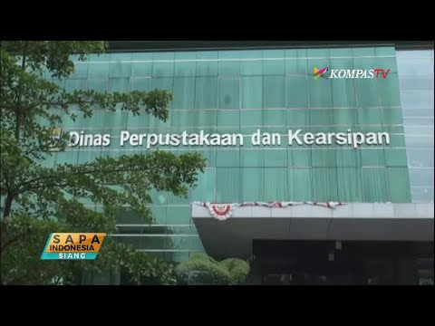 PERPUSTAKAAN KELILING MASUK TV NASIONAL KOMPAS TV