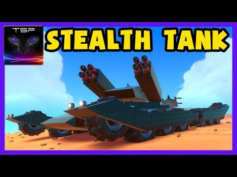 Trailmakers #7 ► Massive Stealth Tank - Build and Funny Gameplay