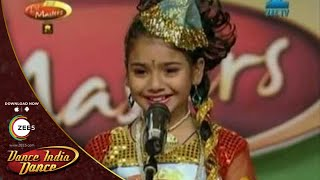 Shalini Moitra MAGICAL AUDITION Performance - DID L'il Masters