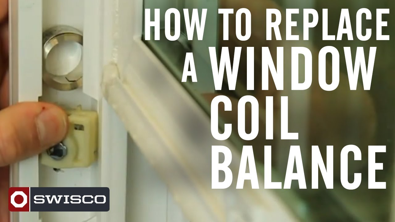 How to replace a window coil balance youtube for How to replace a window