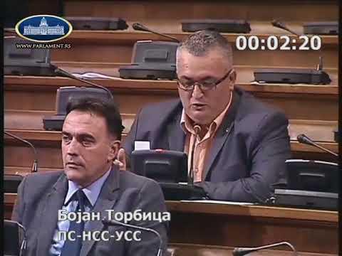 Бојан Торбица о предлозима закона о трансплатацији и људским ткивима и ћелијама 18.7.2018.
