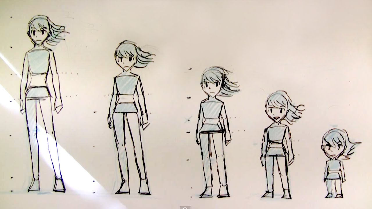 How To Draw Female Body Proportions  Teenager To Kid