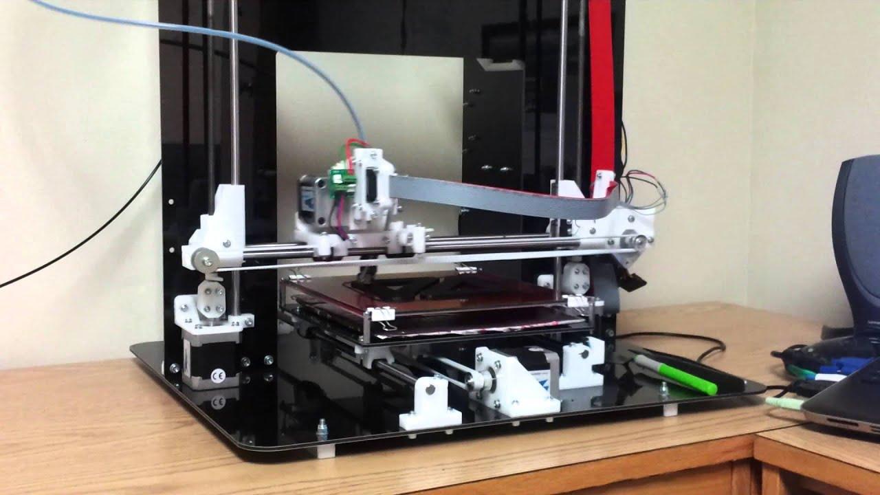 Mendel90 3D Printer - YouTube