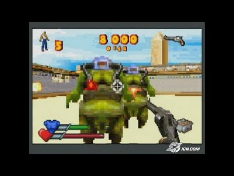 Serious Sam Advance Game Boy Gameplay