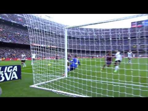 Todos los goles del Valencia CF al Barcelona (2-3) HD