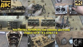 Конструкторы НАРКОМАНЫ или сравнение двигателей Peugeot XU7JP 1.8 и XU10J2 2.0. Евгений Травников.