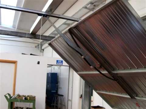 Canopy Garage Door Automation Youtube