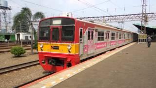 ジャカルタの日本製中古電車 Jepang Kereta Api