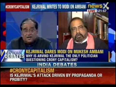 India Debate: Why is Arvind Kejriwal only leader questioning crony capitalism?