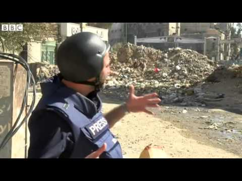 BBC News 6 March 2014 Food parcels halted after fighting in Yarmouk refuge camp