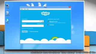 How To Delete Skype® Conversation History On Windows® 8