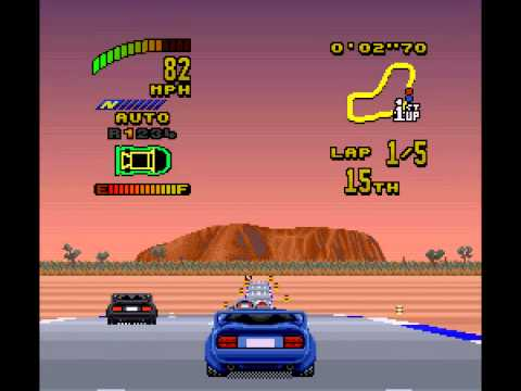Top Gear 2 - I play Top Gear 2 for SNES - User video