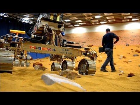 La surface de Mars simulée au nord de Londres