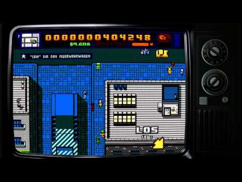 Let's Play Retro City Rampage (Blind!) [6] Speed Racer!