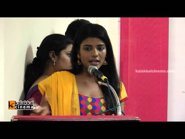 Aiyswarya Speaks at Unnal Mudiyum Penne Magazine Launch
