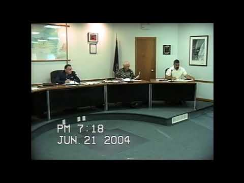 Rouses Point Village Board Meeting 6-21-04