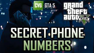 GTA 5: The Secret Phone Numbers Fact Or Fiction