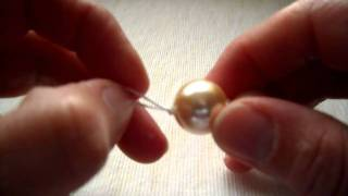 Tutorial Infilare Perle Con Nodo. / Pearl Knotting