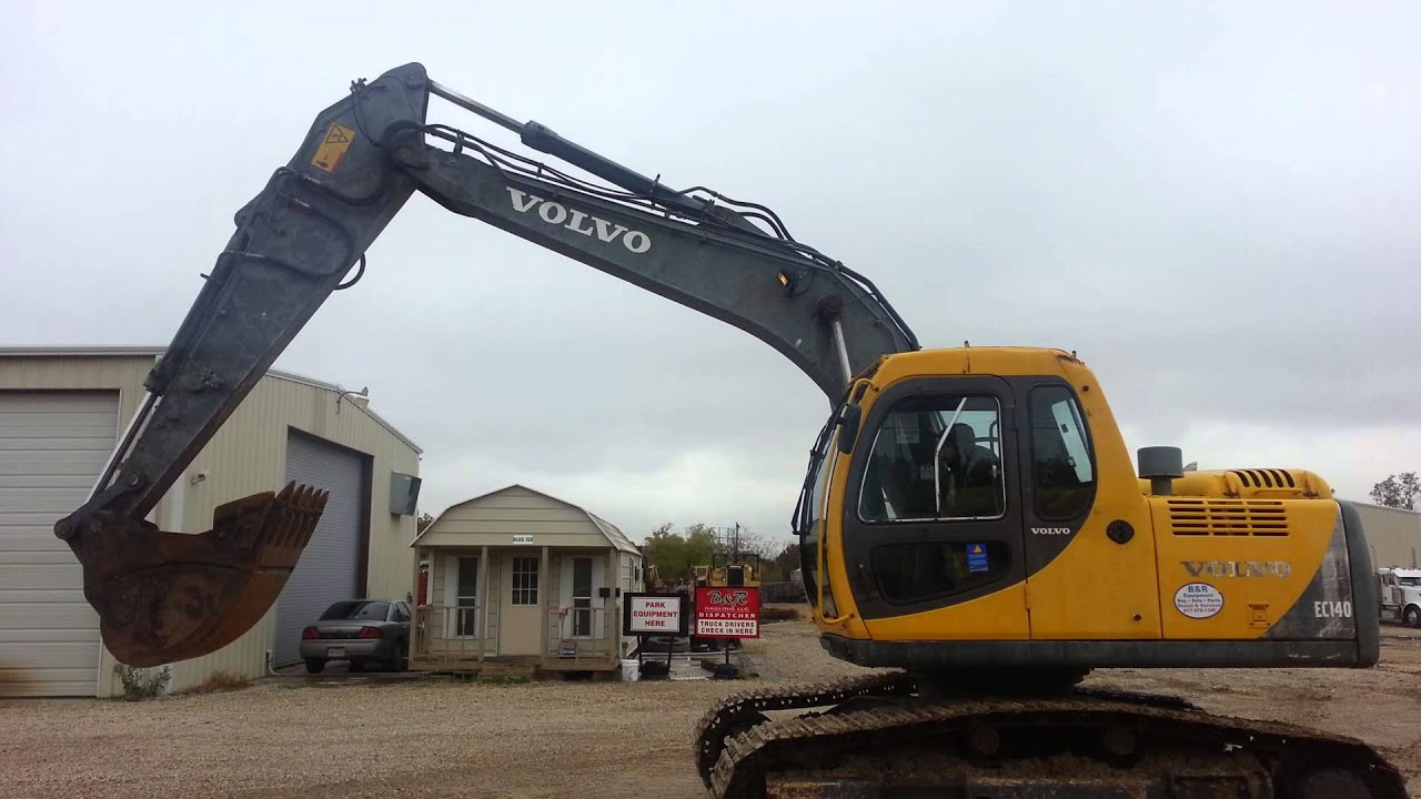 Volvo excavator 700