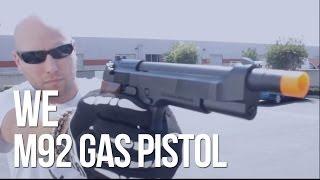 WE M92 METAL Gas Blowback Airsoft Gun L Review Thor's
