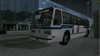 City Bus Simulator 2010 New York Gameplay #1 HD