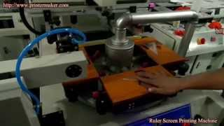 [Triangle Ruler Screen Printing Machine] Video