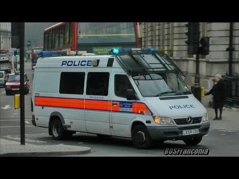 2x Public Order Van Metropolitan Police London