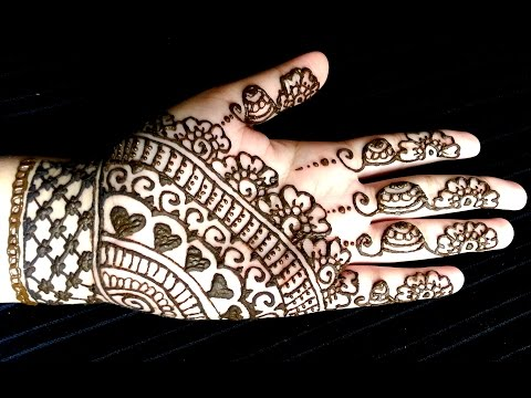 Best & easy indian mehndi designs latest collection for girls
