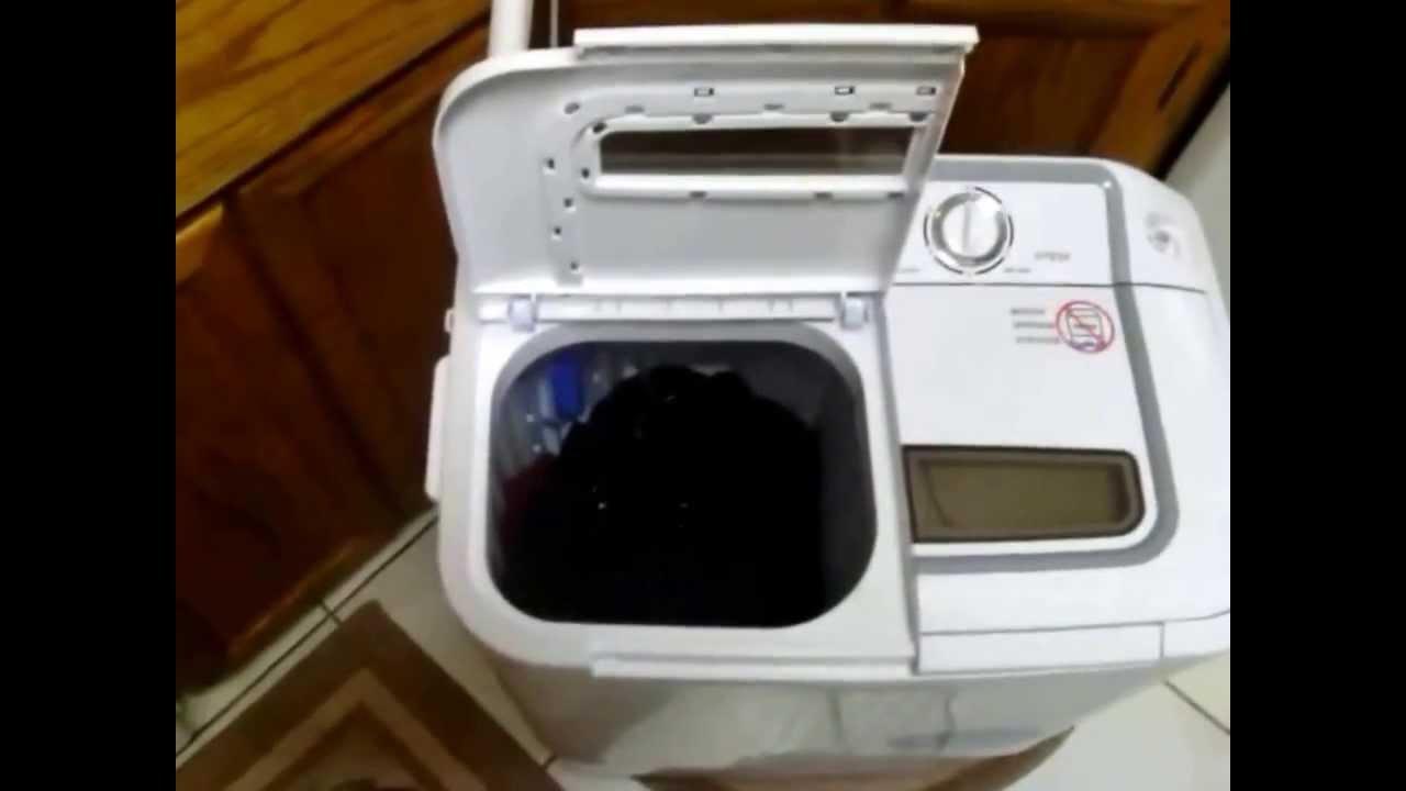 XPB36 Panda Portable Compact Washing Machine with Spinner ...