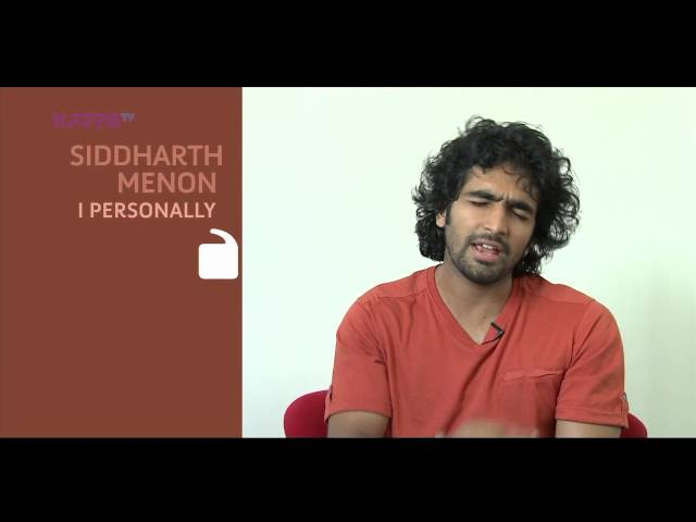 I Personally - Siddharth Menon - Part 2 - Kappa TV