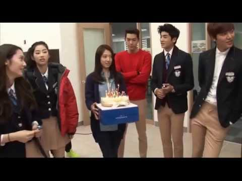 The heirs funny moments part 5, Korean New Drama, Park shin hye & Lee min ho korean