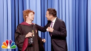 Simon Pegg as Ron Weasley Drunk at Harry Potter's Birthday