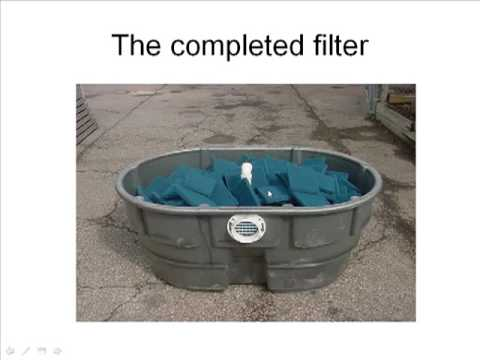 Diy Pond Filter Youtube