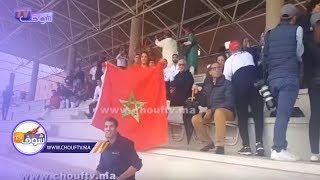 من قلب إسبانيا..المغاربة ناشطين بالدقة المراكشية خلال تكريم جوهرة الكرة المغربية عبد الله الأنطاكي | بــووز
