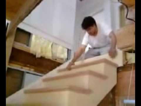 Como Hacer Escalera De Madera 7 Instalacion Youtube