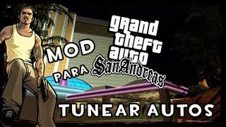 GTA SA Como Descargar Mod Para Tunear Autos En GTA San