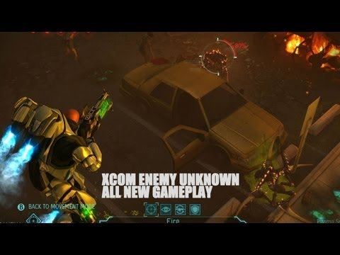 XCOM Enemy Unknown, new gameplay shows off powerful arsenal