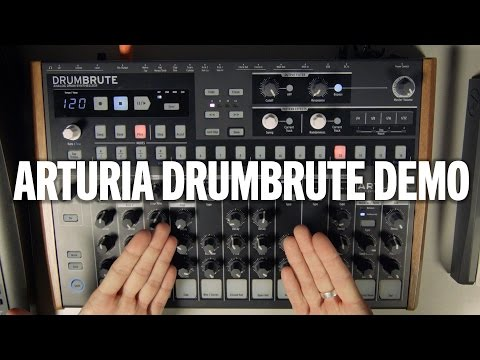 Arturia DrumBrute Analog Drum Machine & Sequencer