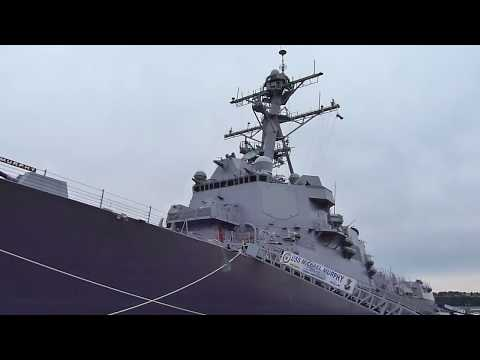 Tour of the USS Michael Murphy (DDG-112)