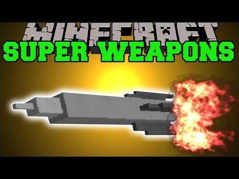 Minecraft: SUPER WEAPONS (MIGHTY SQUID BOMB, BOMBER BAT, & SUPER ARMOR) Custom Command Creation