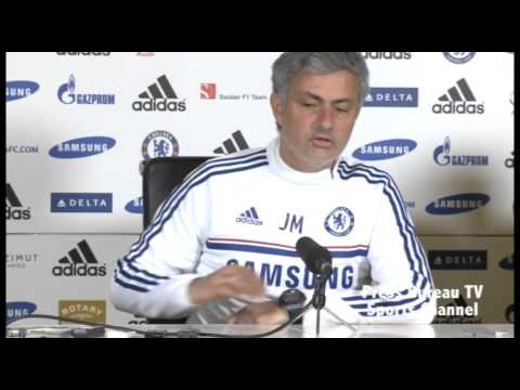 Jose Mourinho pre Liverpool vs Chelsea