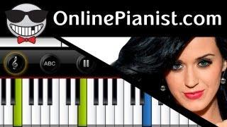 Katy Perry Roar (PRISM Album) Piano Tutorial (Easy