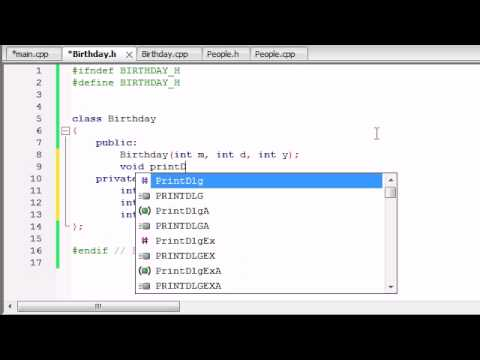 Buckys C++ Programming Tutorials - 46 - Composition